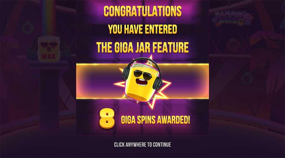Jammin Jars 2 Slot - Giga Spins!