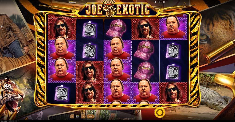 Joe Exotic Slot - Base Game