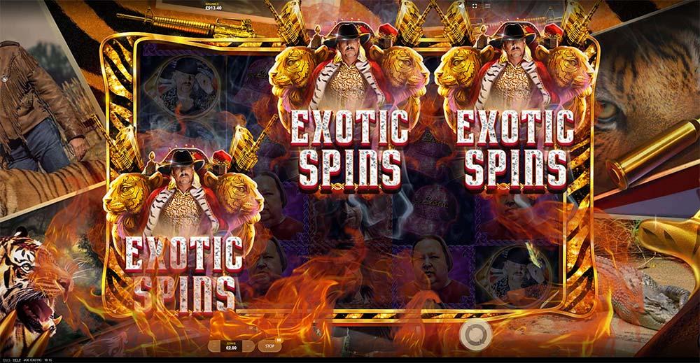 Joe Exotic Slot - Bonus Trigger