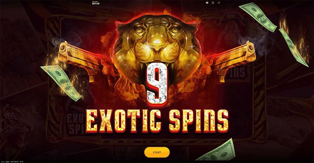 Joe Exotic Slot - Exotic Free Spins