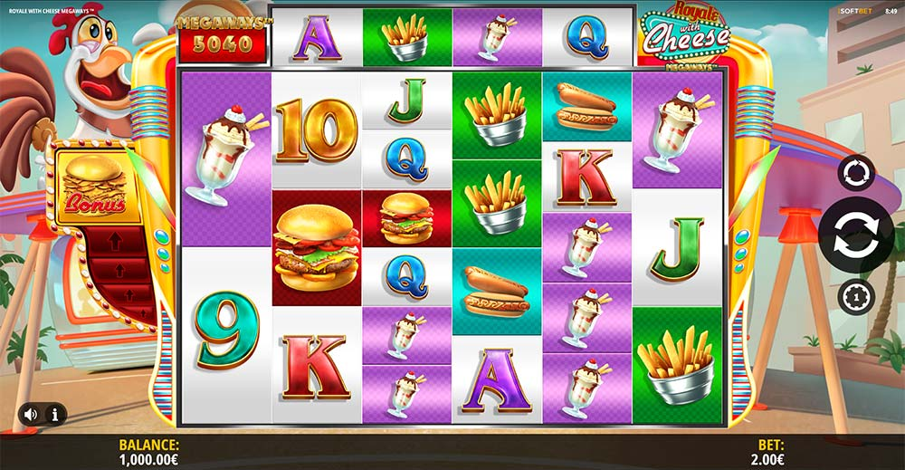 Royale with Cheese Slot - Base Game