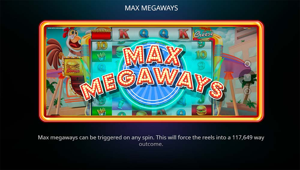 Royale with Cheese Slot Max Megaways