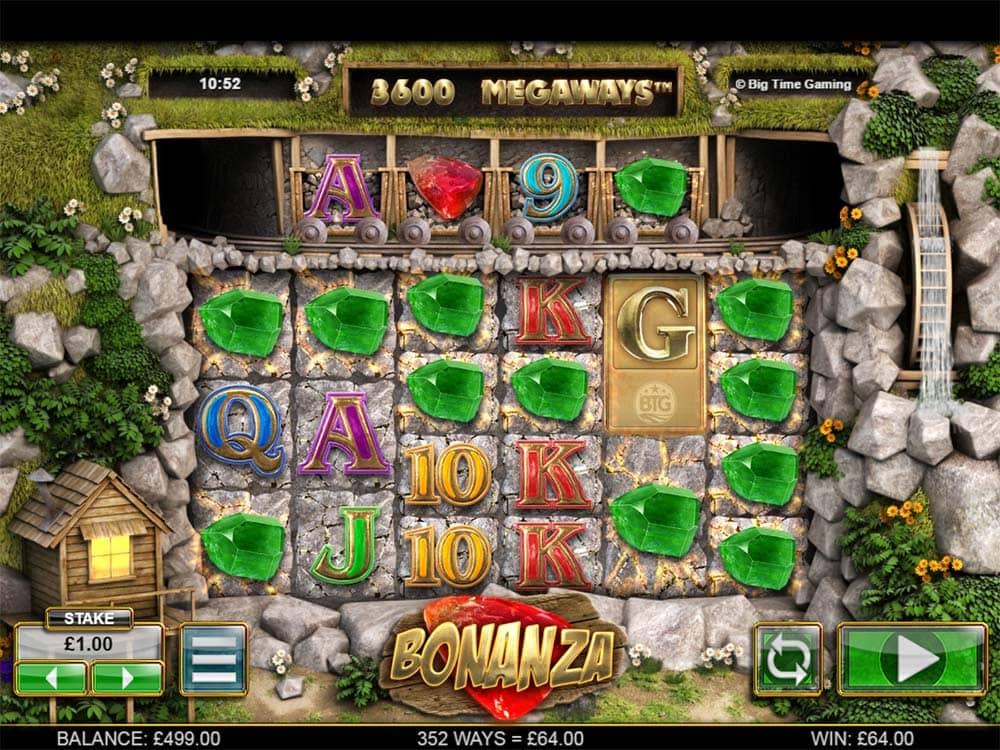 Bonanza Slot - Base Gameplay