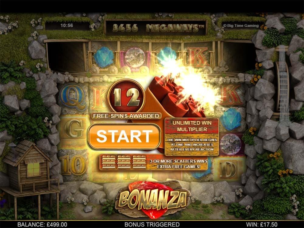 Bonanza Slot - Free Spins Start