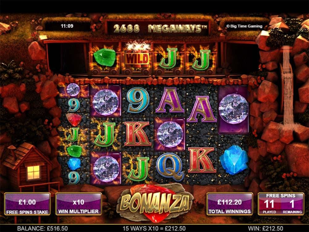 Bonanza Slot - Free Spins