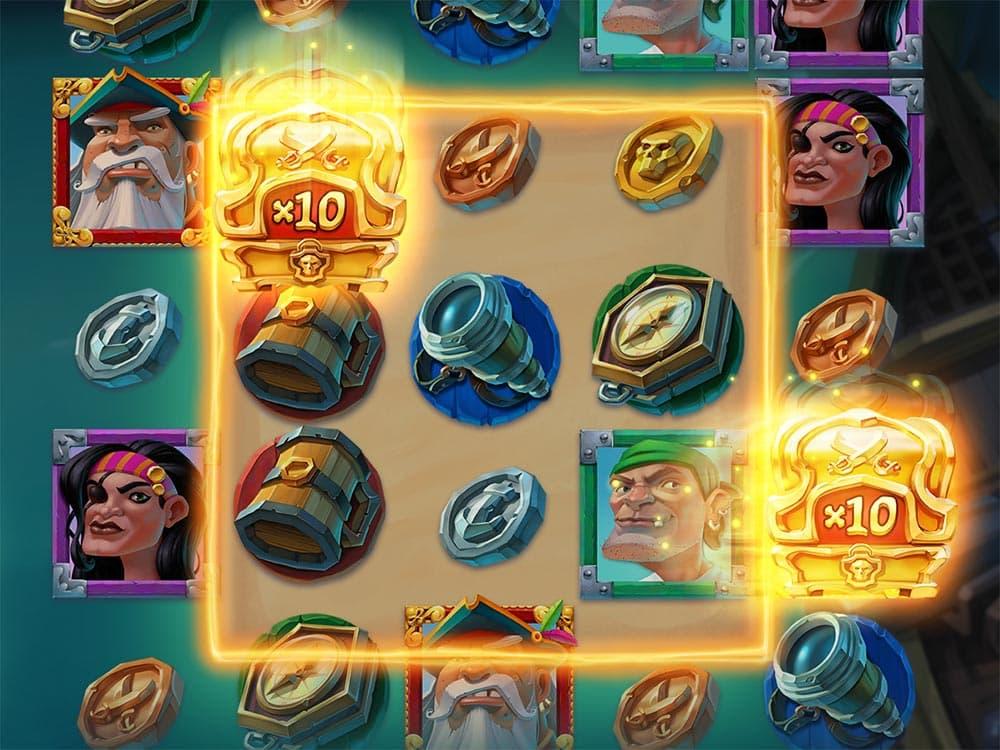 Booty Bay Slot - 3x3 Hotzone