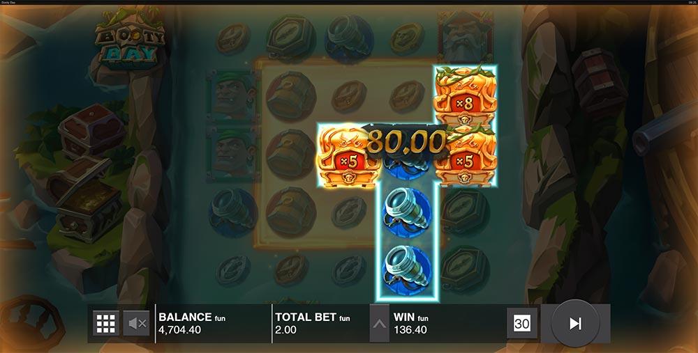 Booty Bay Slot - Triple Multiplier Wilds