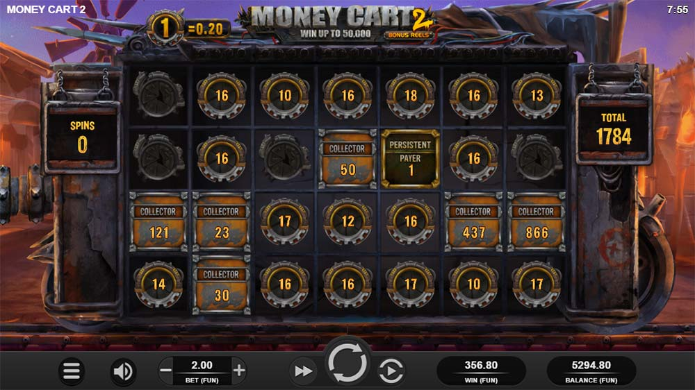 Money Cart 2 Slot - Bonus End