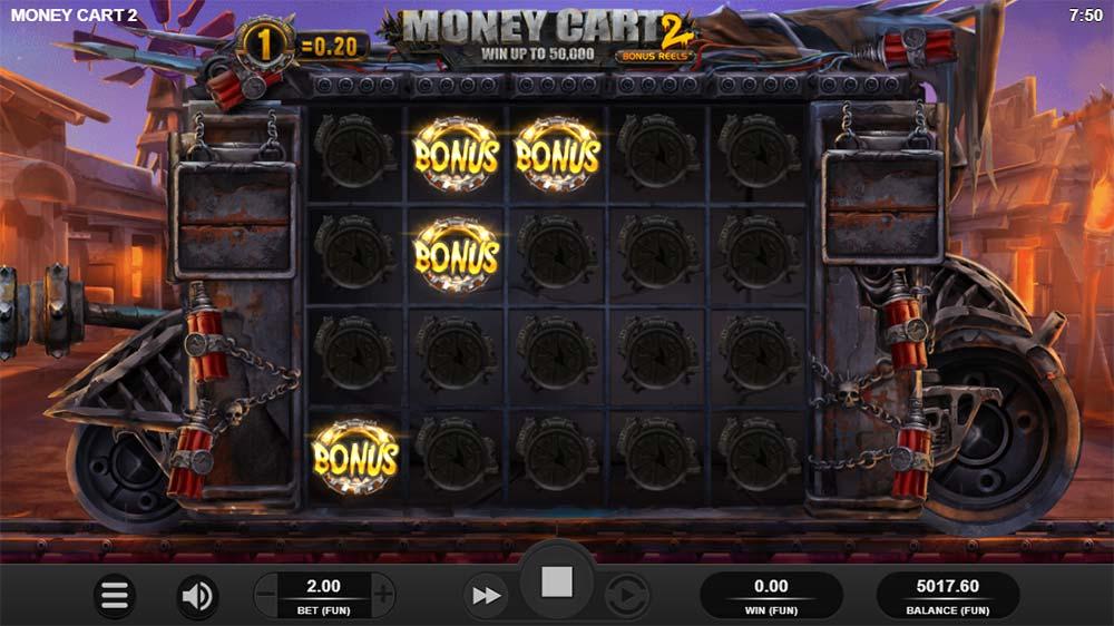 Money Cart 2 Slot - Bonus Trigger