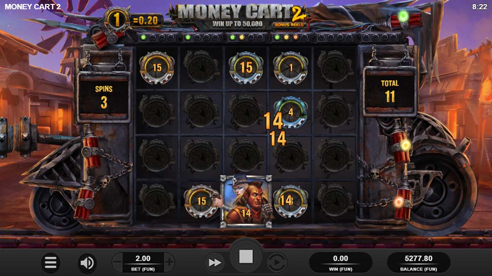 Money Cart 2 Slot - Collector Payer Symbol