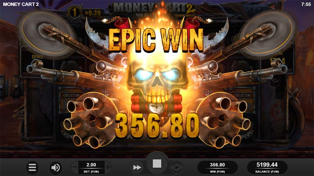 Money Cart 2 Slot - Epic Win Animation