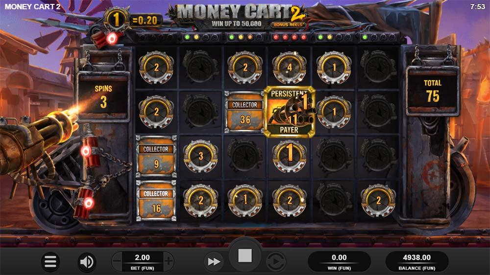 Money Cart 2 Slot - Persistant Payer Symbol