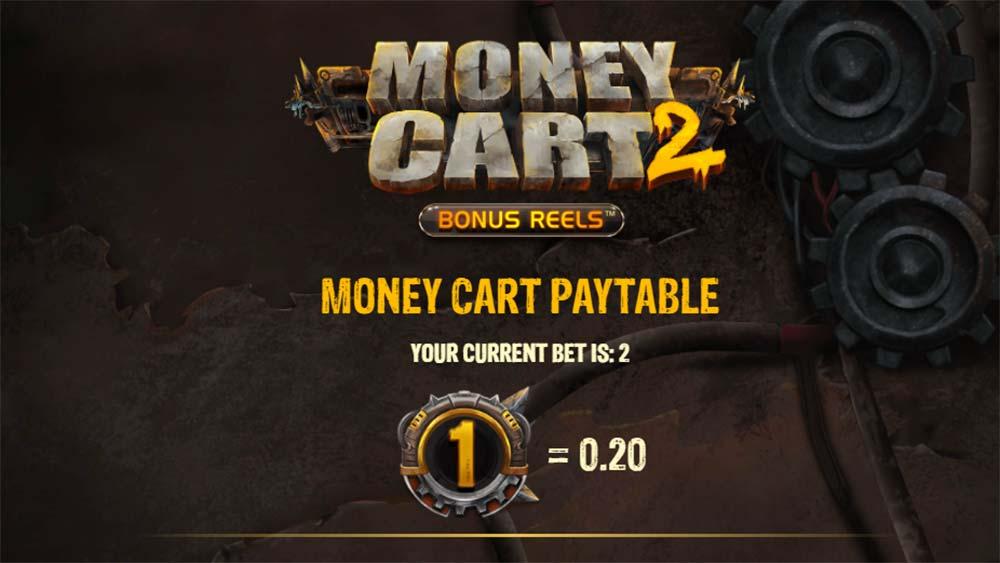 Money Cart 2 Slot - Paytable