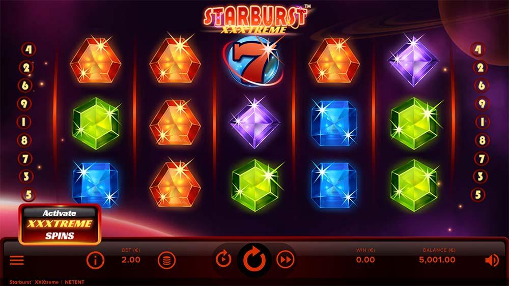 Starburst XXXtreme Slot - Base Game