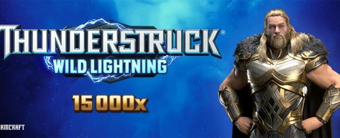 Thunderstruck Wild Lightning Slot Logo