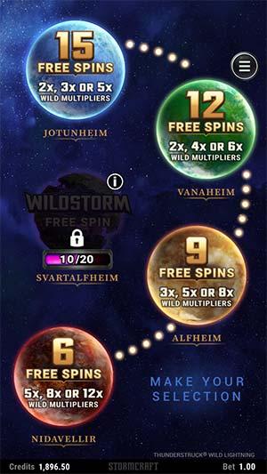 Thunderstruck Wild Lightning Mobile Slot - Free Spins Secelction