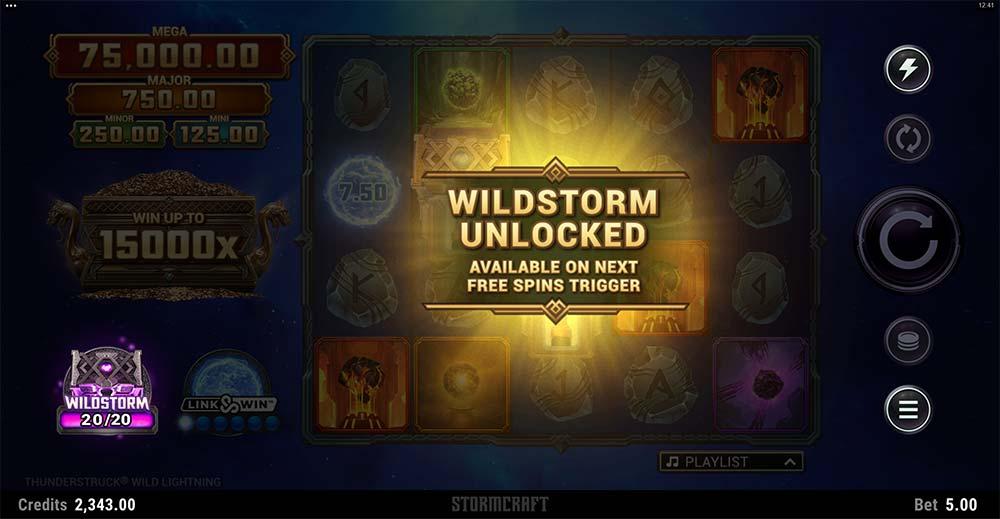 Thunderstruck Wild Lightning Slot - Wildstorm Unlocked