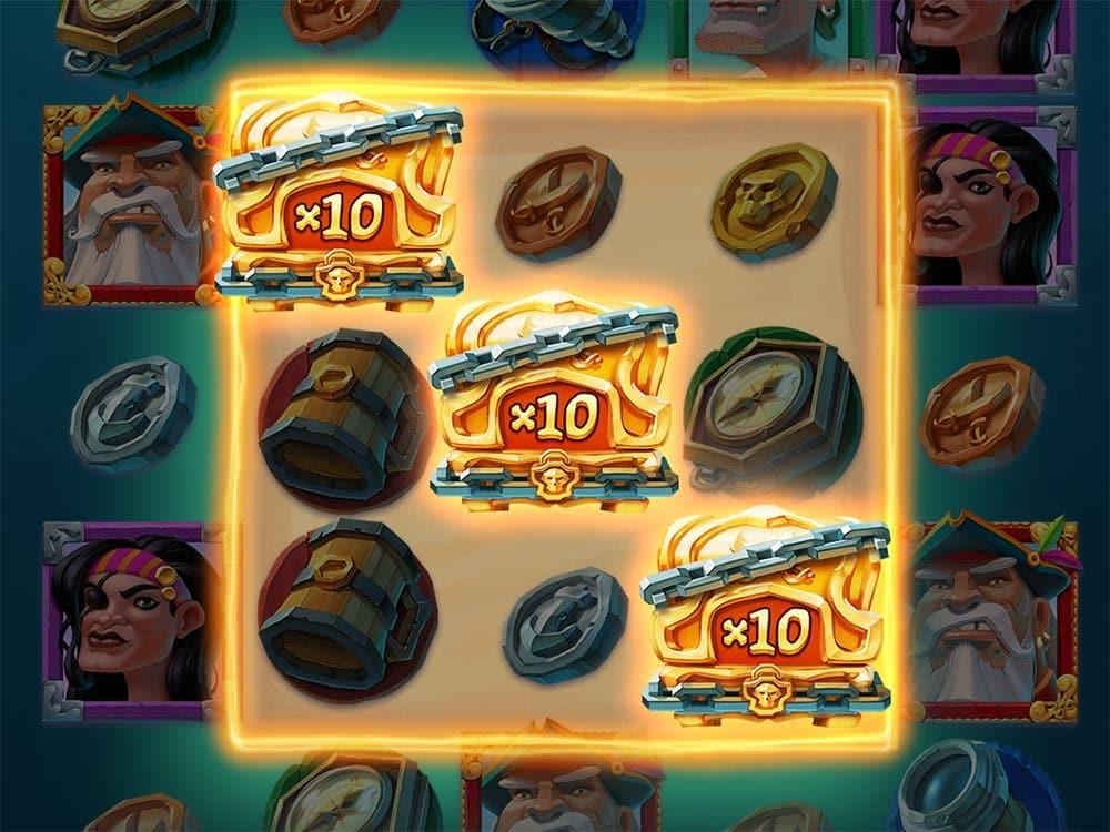 Booty Bay Slot - Triple Wild Lock Feature