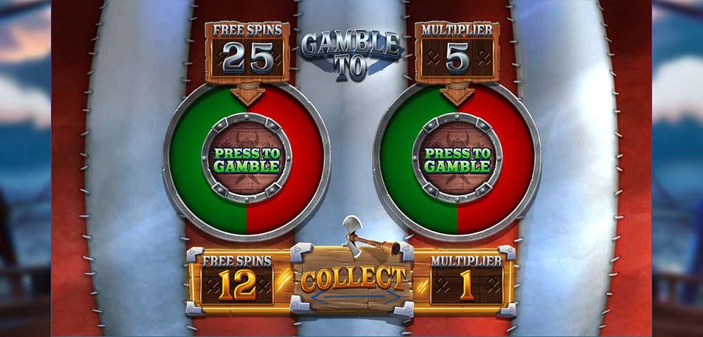 Vikings Unleashed Megaways Slot - Gamble Feature