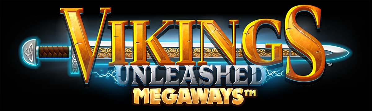 Vikings Unleashed Megaways Slot Logo