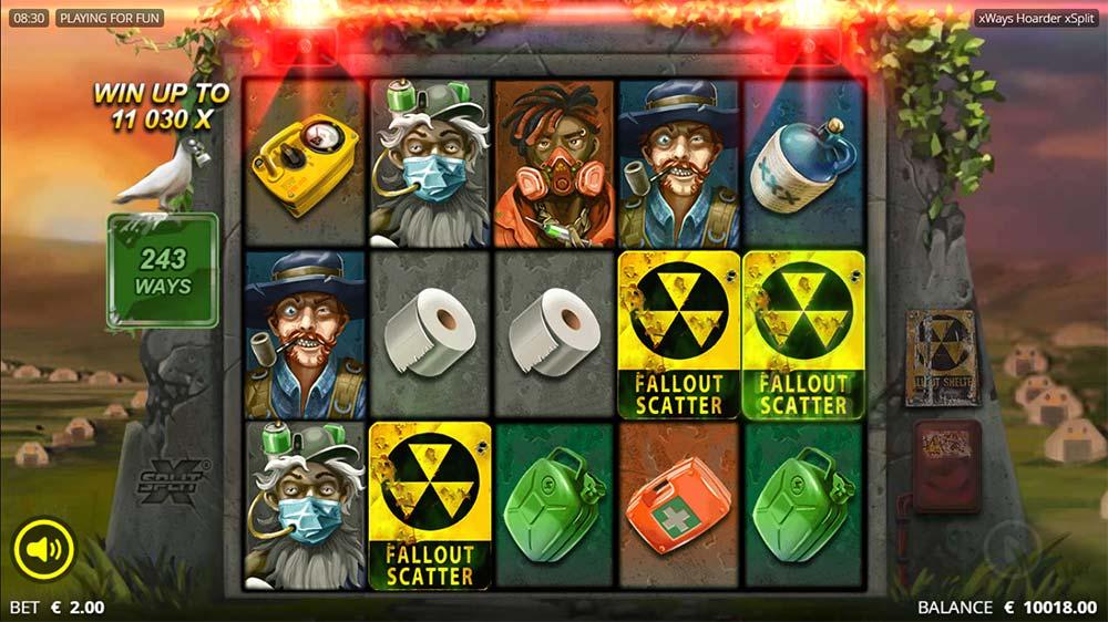 xWays Hoarder xSplit Slot - Bonus Trigger