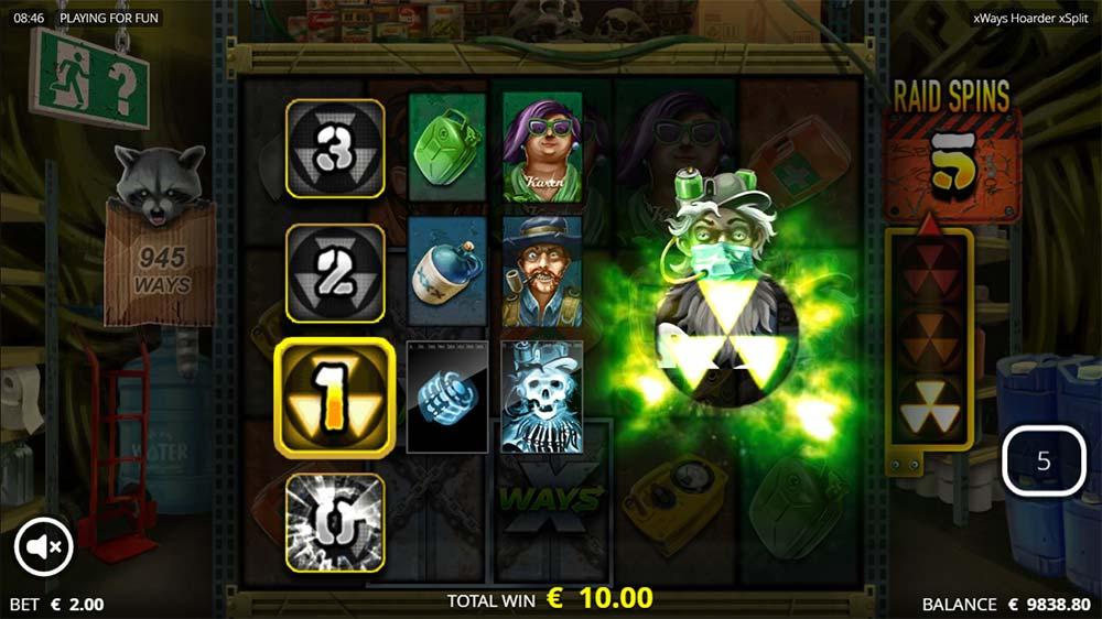xWays Hoarder xSplit Slot - Raider Level 1