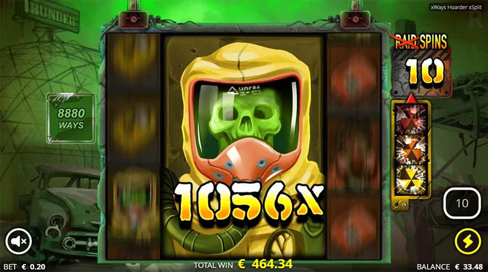 xWays Hoarder xSplit Slot - Paytable