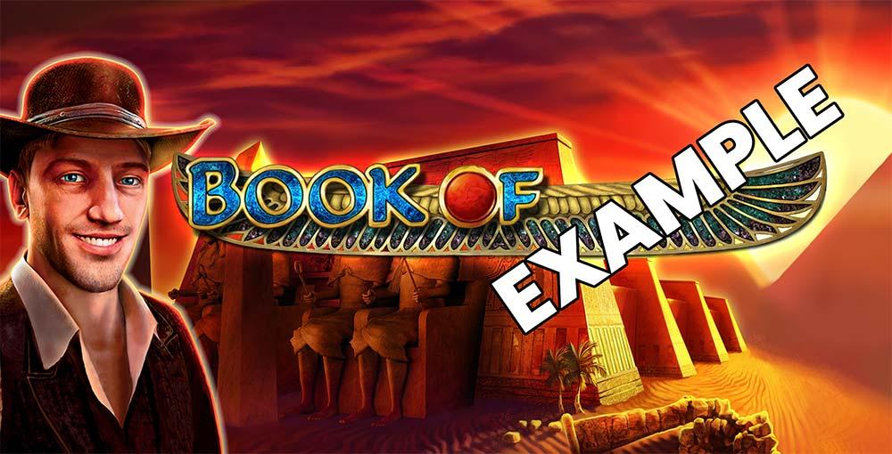 Book of Exmaple Slot Header