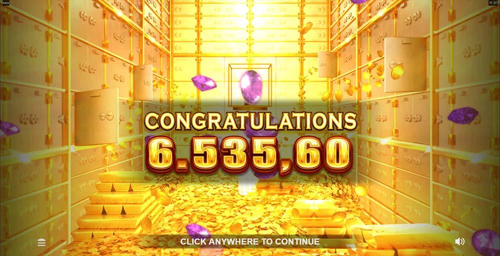 Break Da Bank Again Megaways Slot - Bonus End