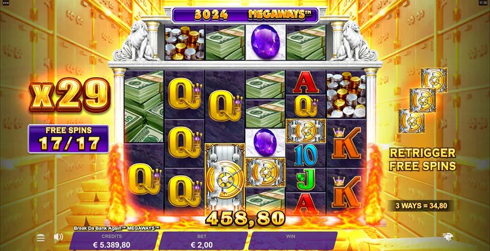 Break Da Bank Again Megaways Slot - Hotmode Free Spins