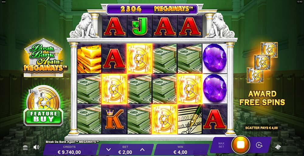 Break Da Bank Again Megaways Slot - Bonus Trigger