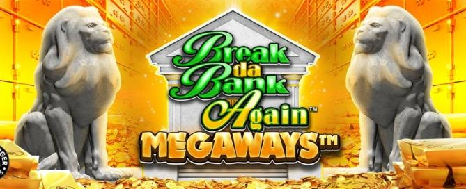 Break Da Bank Again Megaways Slot Header