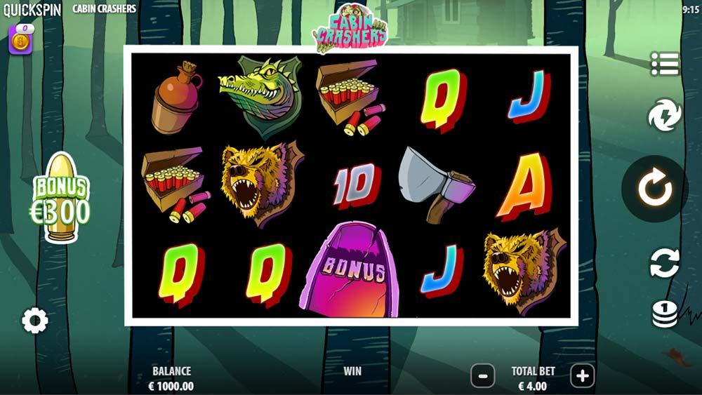 Cabin Crashers Slot - Base Game