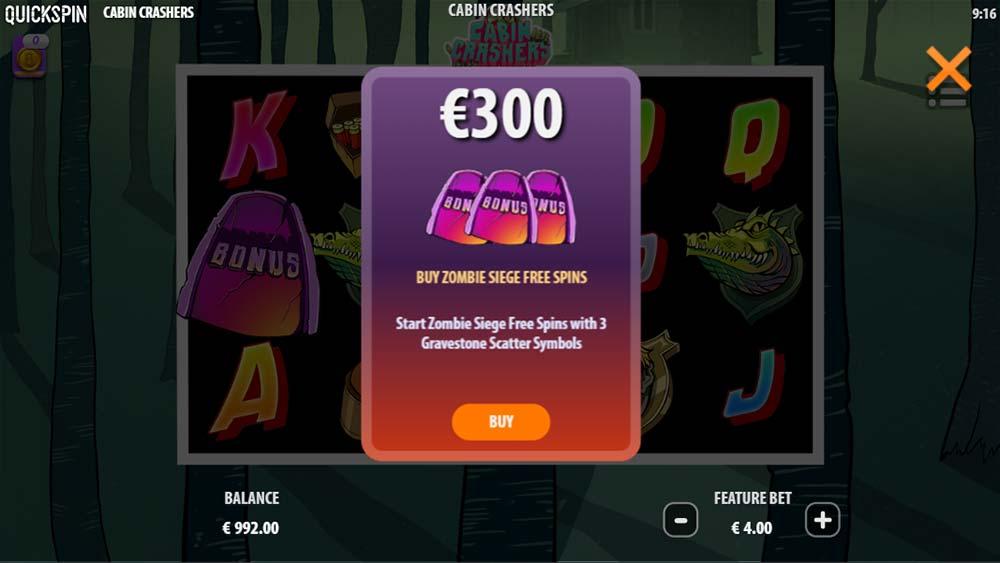 Cabin Crashers Slot - Bonus Buy