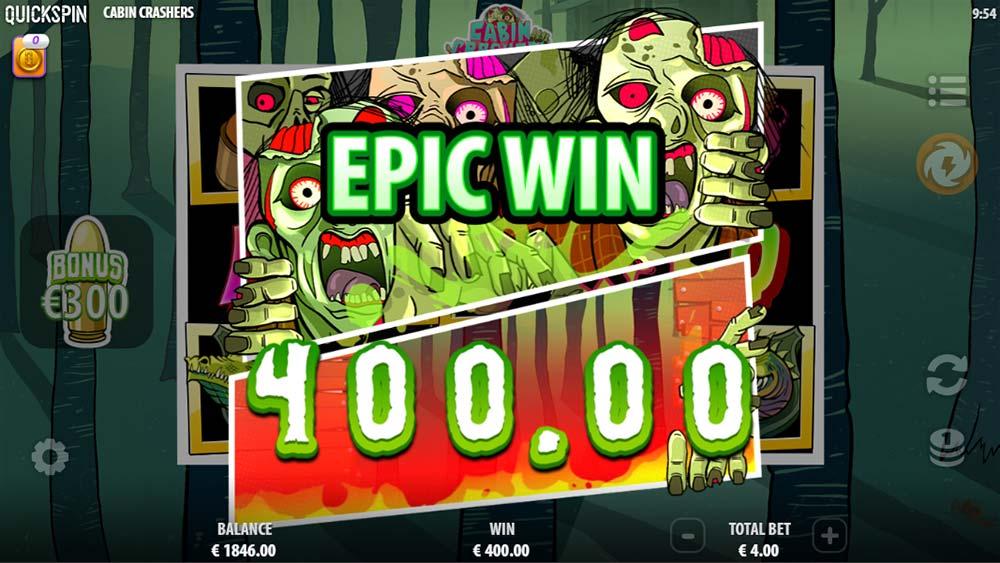 Cabin Crashers Slot - Epic Win