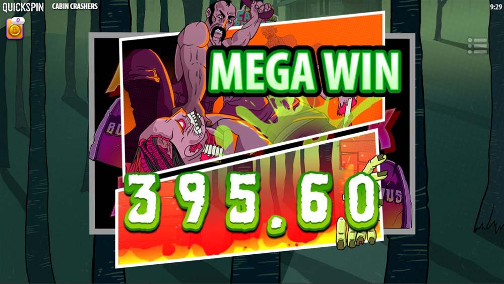 Cabin Crashers Slot - Mega Win