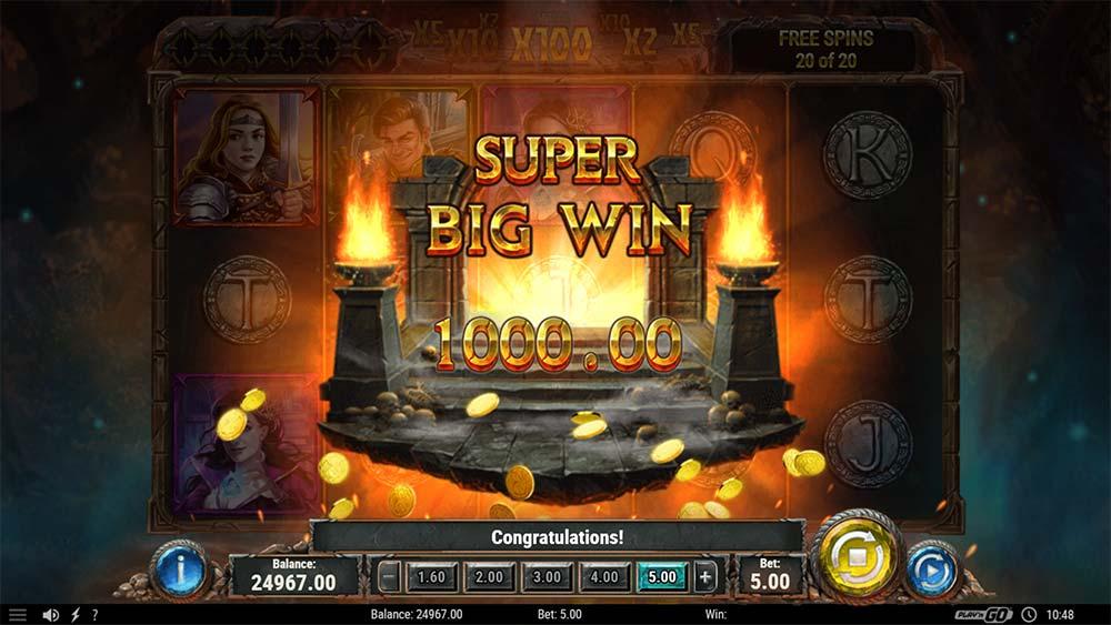 Diamonds of the Realm Slot - Super Big Win