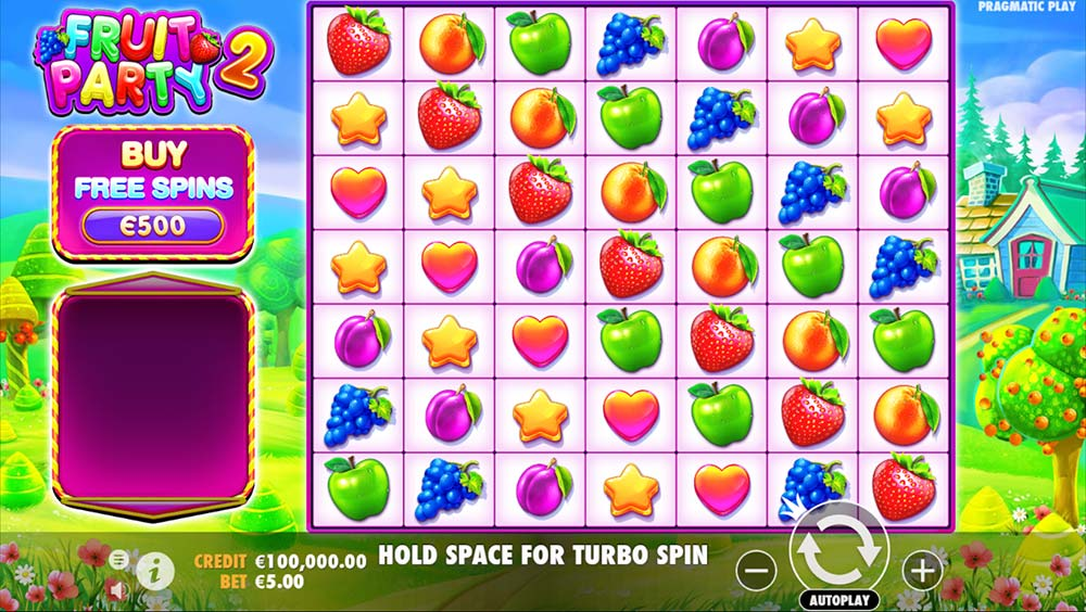 Fruit Party 2 Slot - Base Game