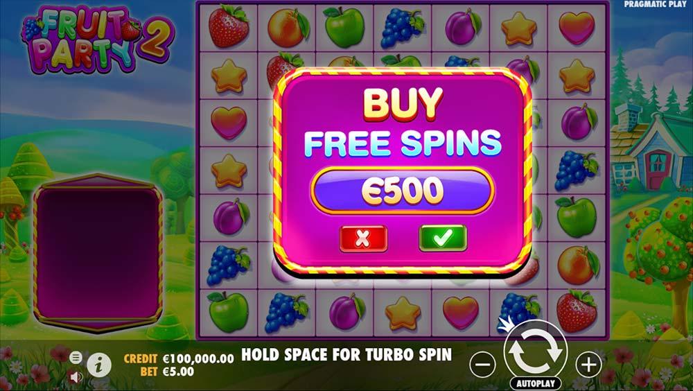 Fruit Party 2 Slot - Bonus Buy