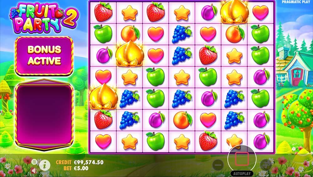 Fruit Party 2 Slot - Bonus Trigger