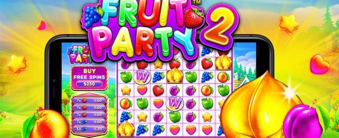 Fruit Party 2 Slot Logo