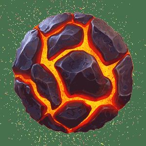 Mount Magmas Rock Symbol