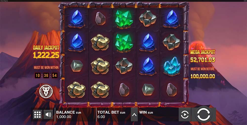 Mount Magmas Jackpots Slot - Base Game