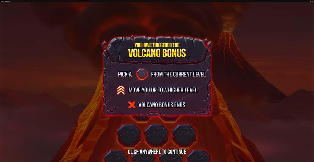 Mount Magmas Jackpots Slot - Volcano Bonus