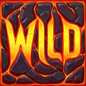Mount Magmas Wild Symbol