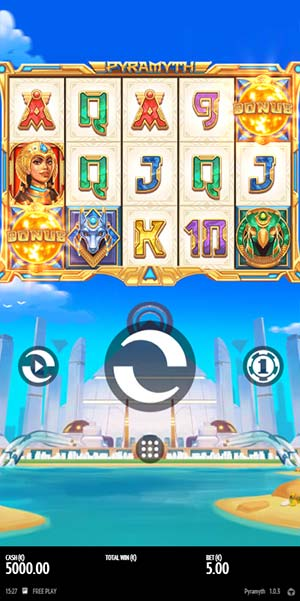 Pyramyth Mobile Slot - Base Game