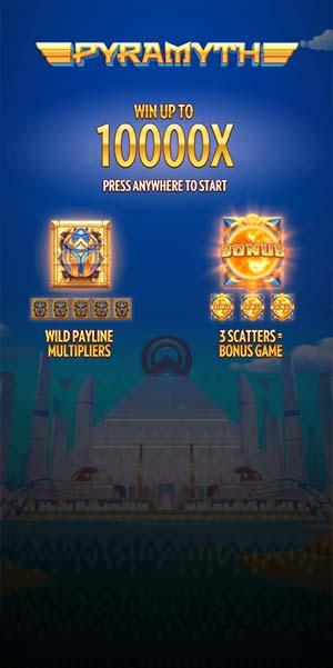 Pyramyth Mobile Slot - Loading Screen