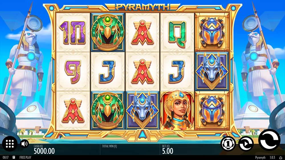 Pyramyth Slot - Base Game