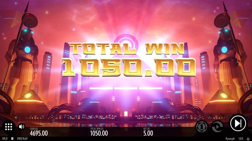 Pyramyth Slot - Bonus End