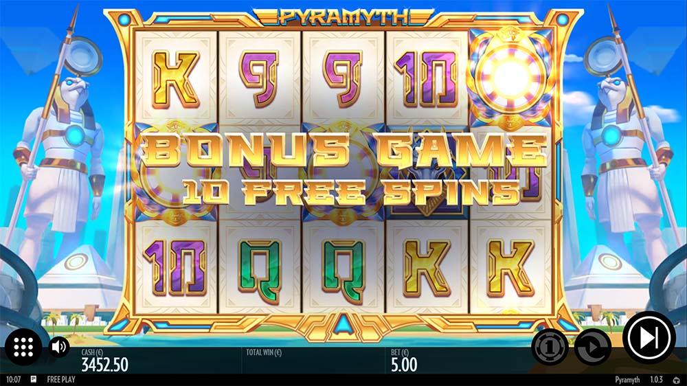 Pyramyth Slot - Bonus Start